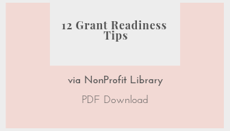 Free Resources 12 Grant Readiness Tips