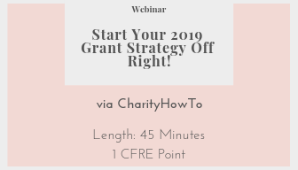 Free Resources Start your 2019 Grant Strategy off right
