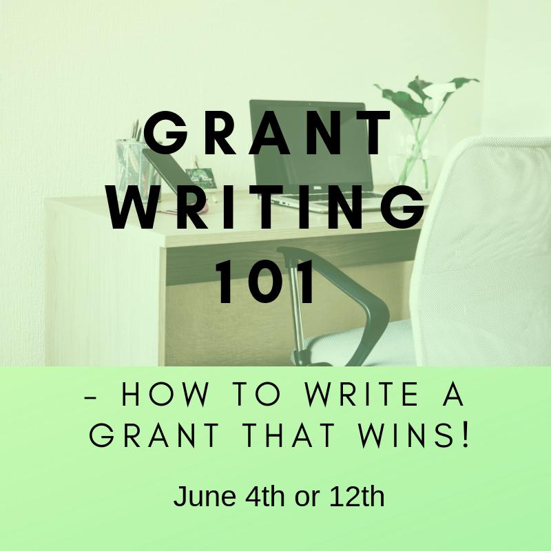 Grant Writing 101 June Website