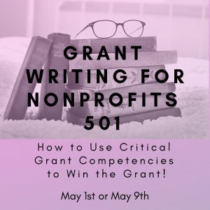 Grant Writing for nonprofits 501