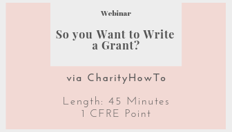 free resources So you want to write a grant