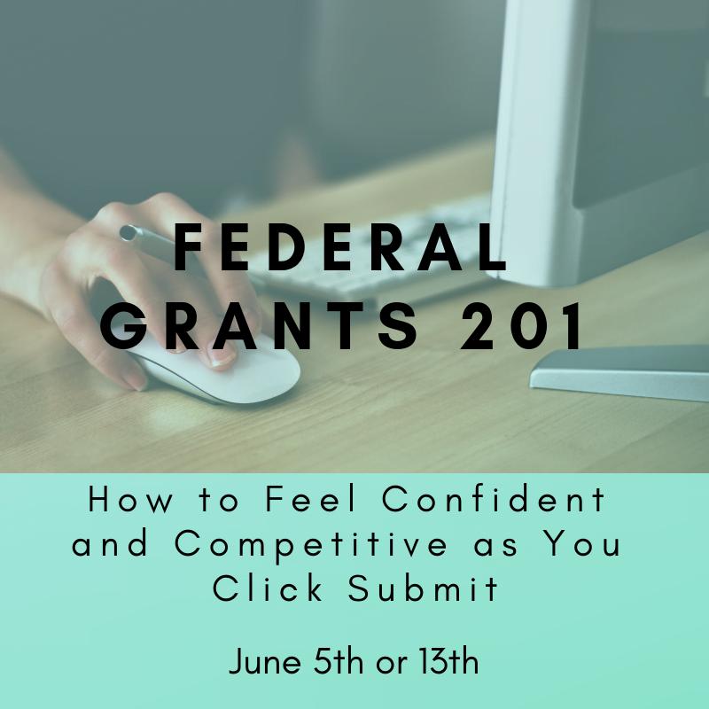 Federal Grants 201 June