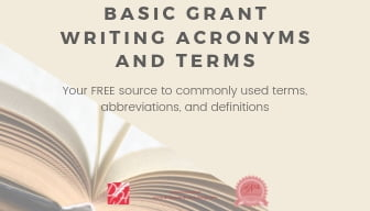 Basic Grant Writing Acronyms and Terms Thumbnail
