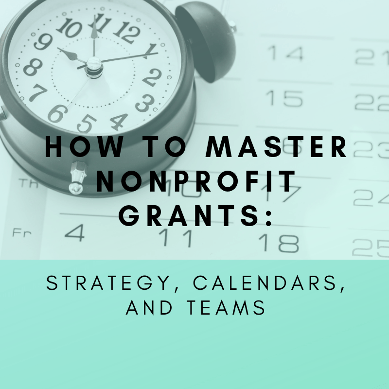 How to Master Nonprofit Grants Blank
