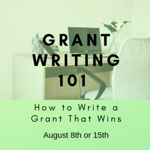 Grant Writing 101 - August