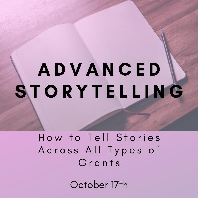 Advanced storytelling October 17th