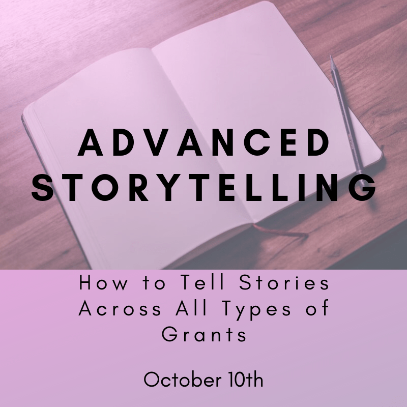 Copy of Advanced storytelling October 10th