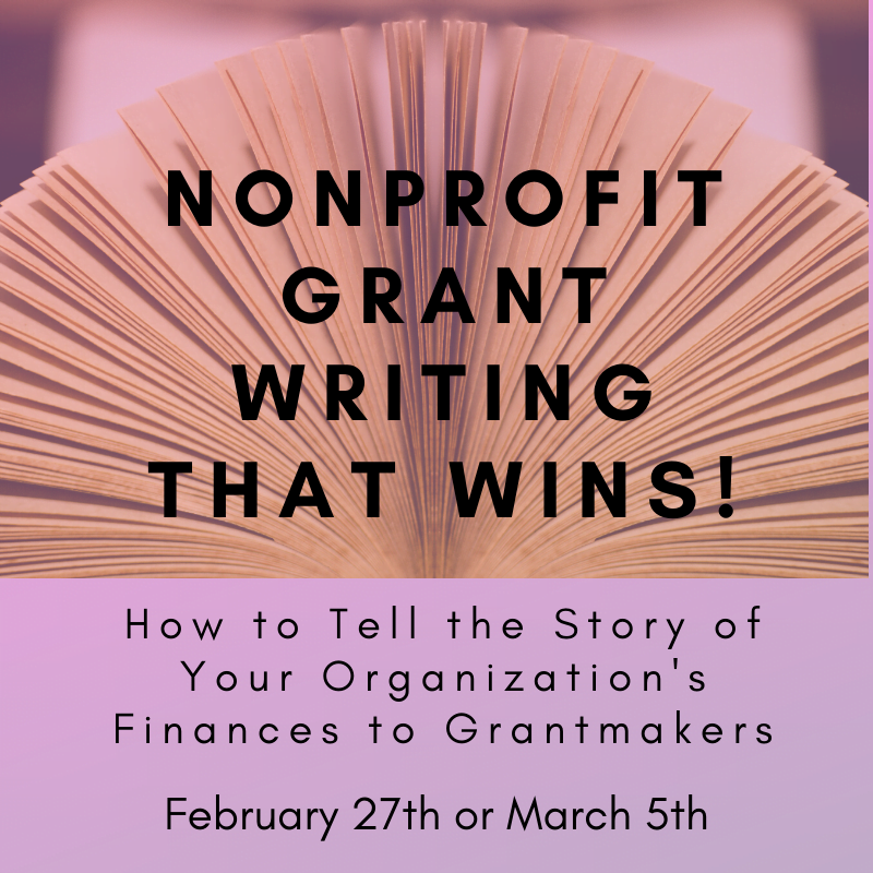 Grant Writing that wins - February _ March