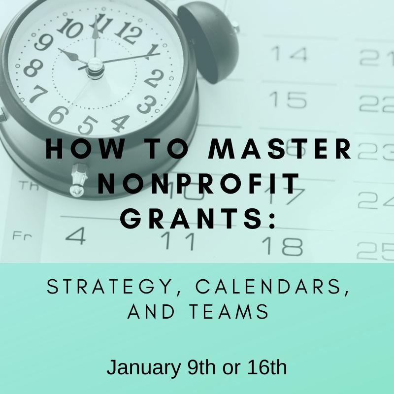 How to Master Nonprofit Grants - January