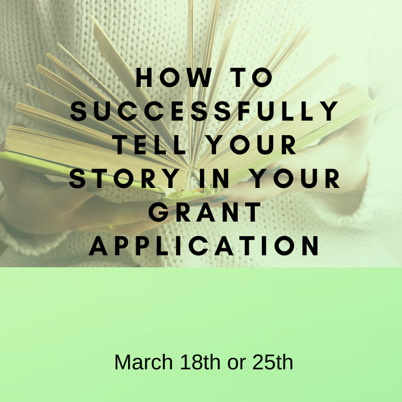Successfully tell your story - March