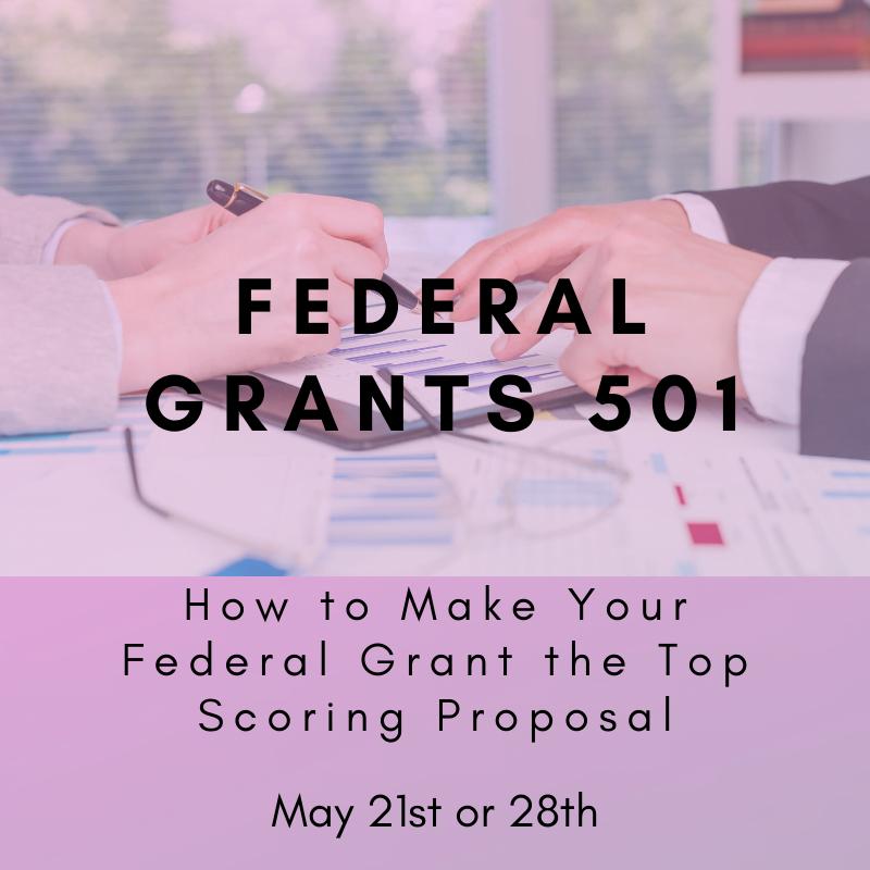 Federal Grants 501 - May