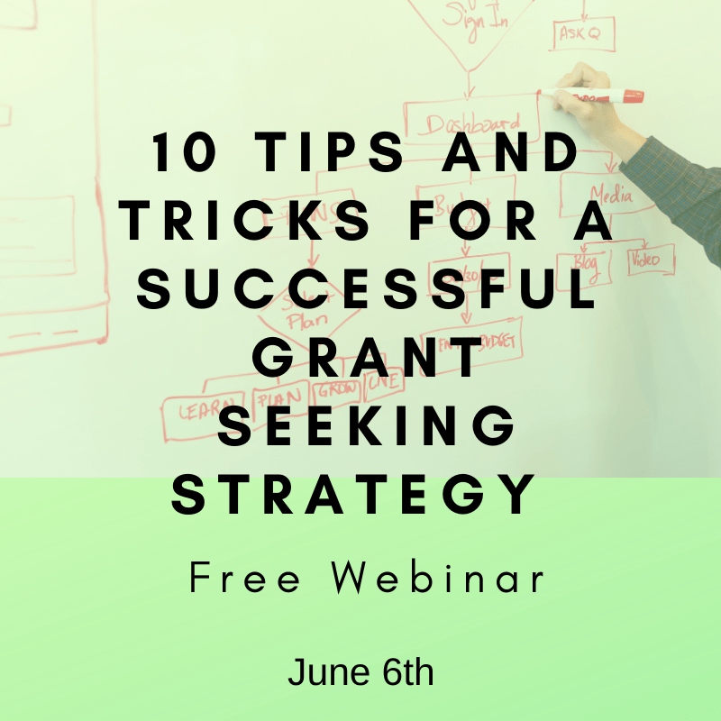 10 Tips and Tricks for successful grant seeking