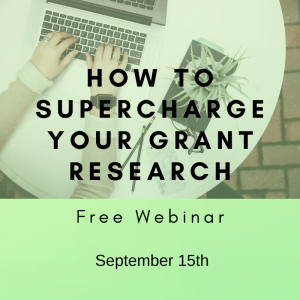 How to Supercharge your grant research