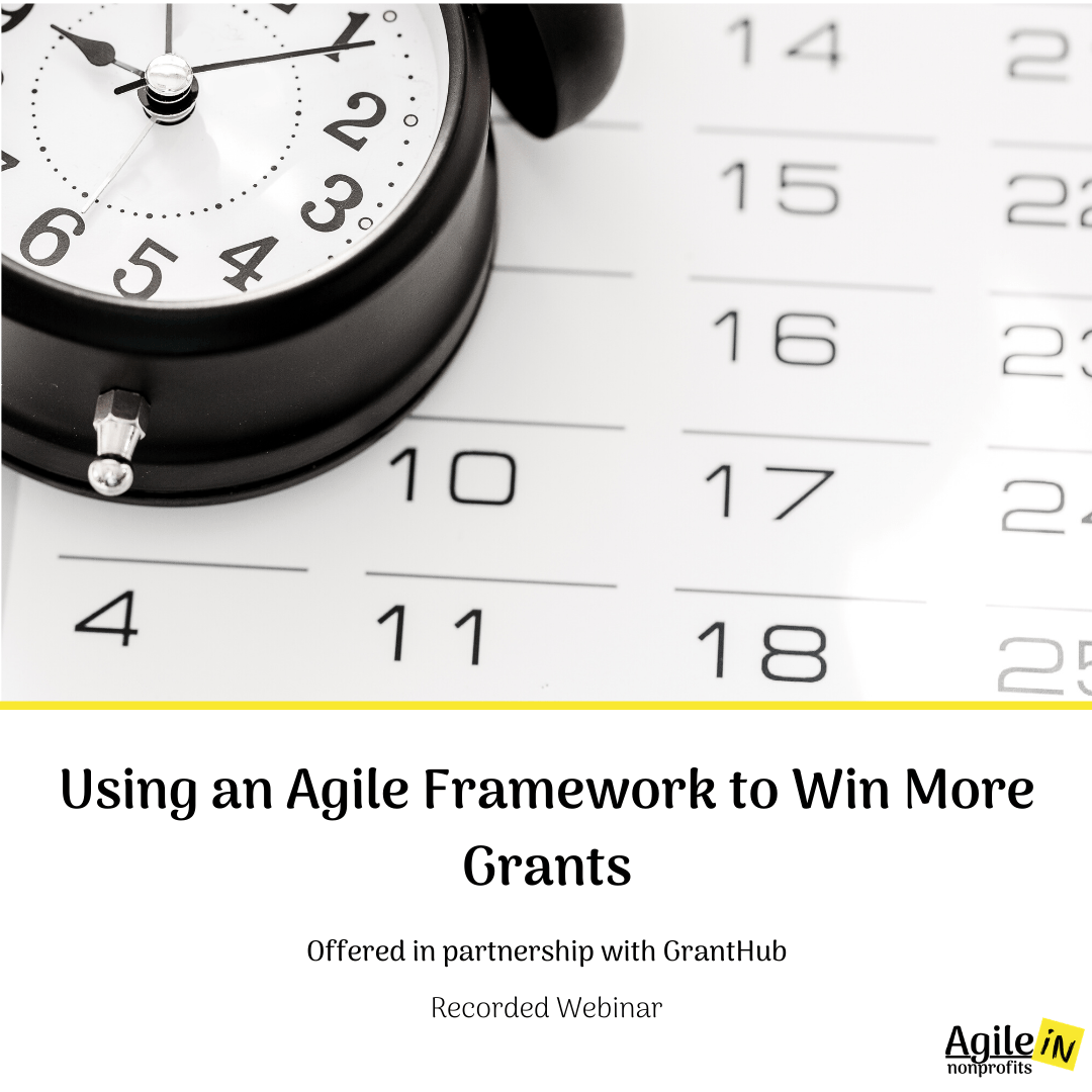 Using an Agile Framework to Win More Grants - GrantHub Webinar - DHL Website