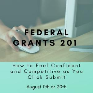 Federal Grants 201 August