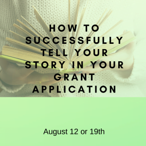 Successfully tell your story - August