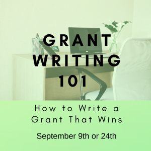 Grant Writing 101 - September