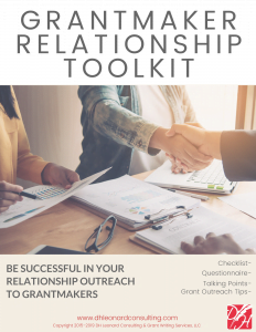 Grantmaker Relationship Toolkit 2019 Cover