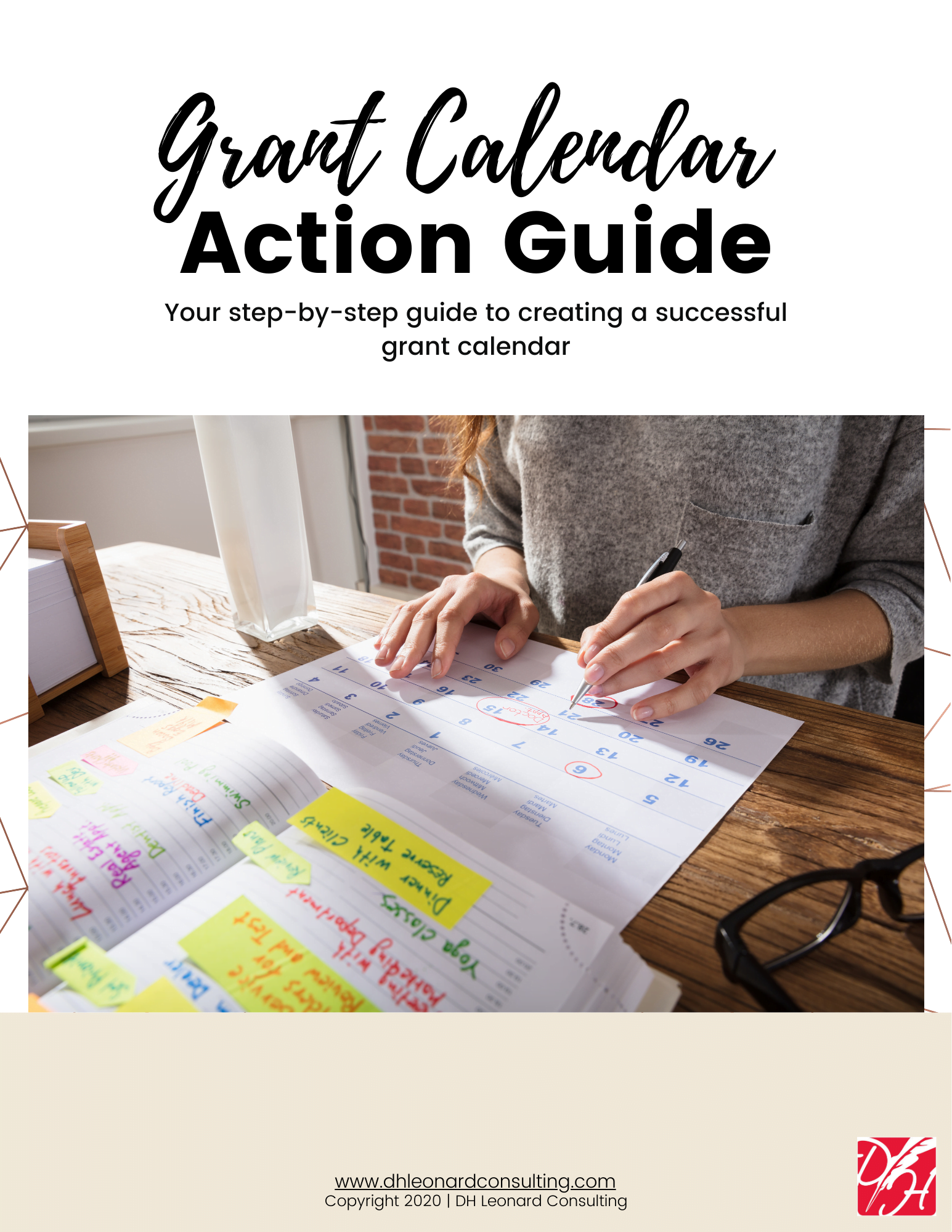 Grant Calendar Action Guide Cover
