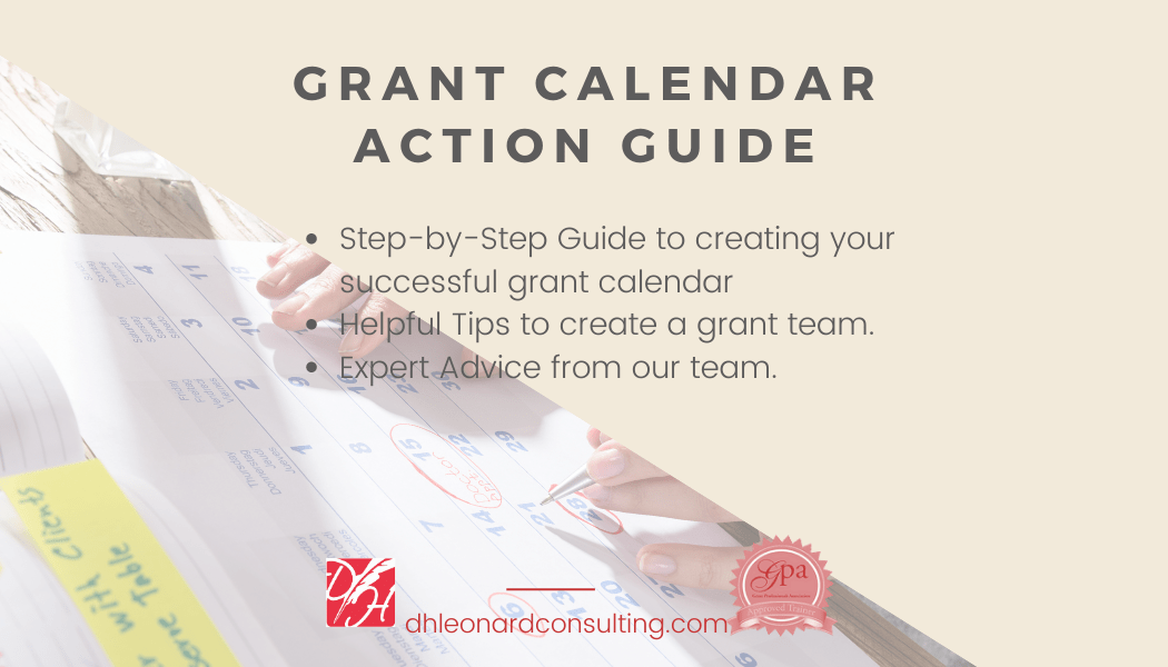 Lead Page - Grant Calendar Action Guide