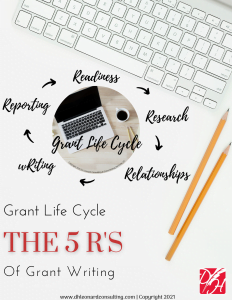 5 R's of Grant Writing Cover