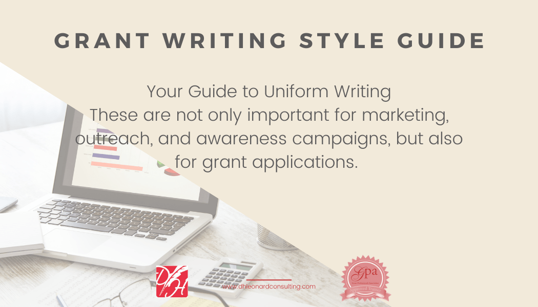 Grant Writing Style Guide Thmbnail